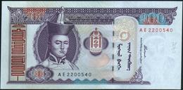 MONGOLIA - 100 Tugrik 2000 {Mongolbank} UNC P.65 A - Mongolie