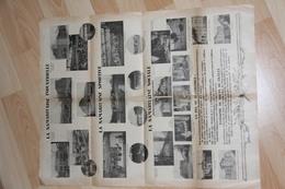 """JOURNAL GRAND FORMAT  """"  LA SAMAR """" De 1931 ( Une Seule Feuille) - Collections"""