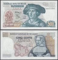 Belgique - Billet 500Fr 21.04.75 (DD)DC7205 - [ 2] 1831-... : Regno Del Belgio