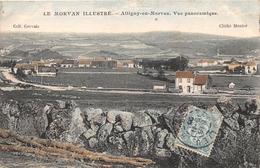¤¤   -    ALLIGNY-en-MORVAN   -  Vue Panoramique   -   La Gare  -  Chemin De Fer  -  ¤¤ - Francia