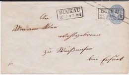 Preußen Ganzsache U 26 A Ra2 Buckau Magdeburg N Weißensee Ca 1865 - Preussen