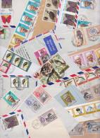 SIERRA LEONE - Lot De 163 Enveloppes Commerciales Timbrées Carte Premier Jour Aérogramme Air Mail Covers FDC Air Letter - Sierra Leona (1961-...)
