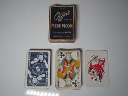 """Jeu De 54 Cartes Publicitaire Ancien """"MERE PICON"""" Fromageries PICON SAINT-FELIX (Haute-Savoie) Ed. La Ducale - 54 Cards"""