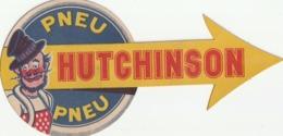 Pneu Hutchinson Carton A Metre Sur Les Rayon De La Roue - Advertising