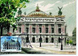 Monument : Carte Maximum Barré-Dayez N° 2359 H Opéra Garnier - Monuments