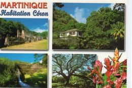 Martinique Belle Multi-vues Habitation Céron  DOM TOM - Altri