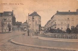 Ypres - Entrée De La Ville (hôtel Des Brasseurs & Hôtel De France) 1911 - Ieper