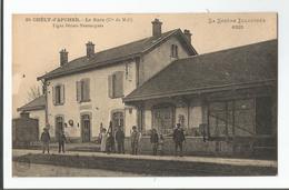 Rare - St Chely - Gare - Animée - Saint Chely D'Apcher