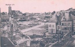 08 - RETHEL / GUERRE 1914-18 - CARTE POSTALE ALLEMANDE - Rethel