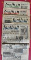 """4 N° De """"football"""" De 1943. Le Sport Pendant La Guerre. Une Rare Curiosité - Newspapers"""