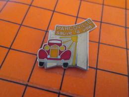513e Pin's Pins / Beau Et Rare / THEME MARQUES : PARCOVILLE SAUVE LA VILLE - Marques