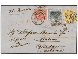 ALBANIA. 1871. Entire Letter Ex The Bianchi Correspondence From VENICE To SCUTARI (Albania) Endorsed 'via Trieste' And ' - Zonder Classificatie