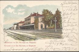 PIVKA ST PETER IN KRAIN, SLOWEINIA, PC, Circulated - Slovenia
