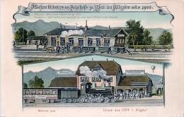 Deutschland - Gruss Aus Isny I. Allgäu - Bahnhof 1906 - Isny