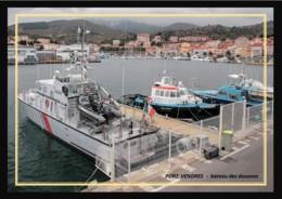 66  PORT  VENDRES -  Le  Bateau  Des Douanes - Port Vendres