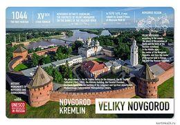 New Postcard Russia UNESCO VELIKIY NOVGOROD - Russie