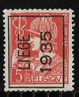 Luik  1935 Typo Nr. 292A - Préoblitérés