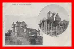 CPA (24) SARLAT.  Château De Paluel, Multivues...K930 - Sarlat La Caneda