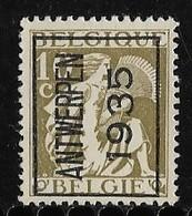 Antwerpen  1935 Typo Nr. 294A - Typo Precancels 1932-36 (Ceres And Mercurius)