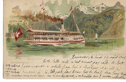 Suisse UR TELLSKAPELLE Auf Dem Vierwaldstattersee 1901   ....G - UR Uri