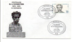 ALLEMAGNE RFA ALBERT SCHWEITZER 1975 - Albert Schweitzer
