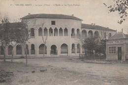 CPA SIDI BEL ABBES ( Algérie ) Le Pont D'ORAN ( Ecole Marceau Et Poids Public ) - Sidi-bel-Abbès