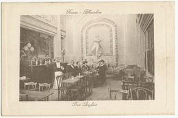 ROUEN (76) – Alhambra, Bar Anglais. Cadre Gaufré. - Rouen