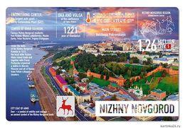 New Postcard Russia NIZHNY NOVGOROD - Russie