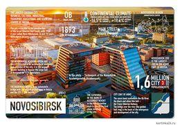 New Postcard Russia Novosibirsk - Russie