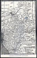 Carte Géographique - AFRIQUE  EQUATORIALE  FRANCAISE   - Didot - Bottin 1936. - Landkarten