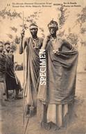 11 Est Africain Allemand : Musinga Roi Du Ruanda - Congo Belge - Postwaardestuk Occupation Belge - Ruanda-Urundi