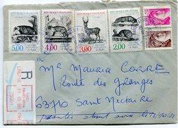 Lettre Recommandée Paris Palais Royal Pour Clermont Fd - 1961-....