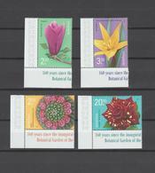 ROMANIA 2020   FLOWERS - 160 Years Bucharest Botanical Garden -set 4 Stamps With Edges MNH** - Pflanzen Und Botanik