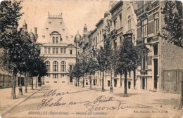 Bruxelles - St-Gilles - Avenue Jef Lambeau - Nels Série 1 N° 411 - St-Gilles - St-Gillis