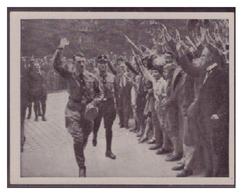 Adolf Hitler (006959) Sammelbilder Austria Tabakwerke, AH Und Sein Weg Zu Großdeutschland Bild 85, Kongreß In Nürnberg - Cigarette Cards