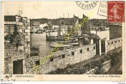 29. CONCARNEAU . Le Port Vu De La Ville Close . - Concarneau