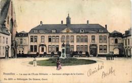 Buxelles - La Cour De L' Ecole Militaire - Ancienne Abbaye De La Cambre - Ixelles - Elsene