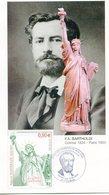 Carte 1er Jour A. Bartholdi Colmar 21.02.2004 - Autres