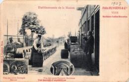 Ixelles - Etablissements De La Maison Felix Huygens - Vins - Une Des Caves Entrepôt Bordeaux - Coins Ronds - Ixelles - Elsene