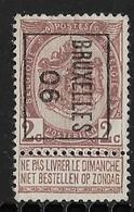 Brussel  1906  Typo Nr. 2B - Precancels