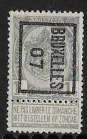 Brussel  1907  Typo Nr. 3B - Precancels