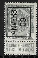 Antwerpen 1909  Typo Nr. 8A - Precancels