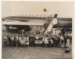 FOTOGRAFIA Del 23 Luglio 1960 Con Giro Propagandistico Della Lufthansa In Europa - Aviazione