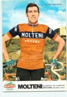 Victor VAN SCHIL . 2 Scans. Cyclisme. Molteni Arcore - Cycling
