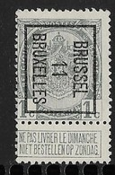 Brussel 1911  Typo Nr. 17B - Precancels