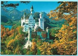 1035 - DUITSLAND - GERMANY - NEUSCHWANSTEIN - KASTEEL - CHATEAU - CASTLE - Deutschland