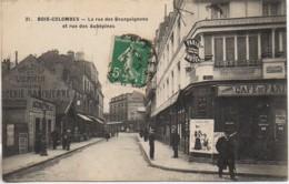 92 BOIS-COLOMBES  La Rue Des Bourguignons Et Rue D'Aubépines - France