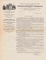 SAINTE LUCE SUR LOIRE GENEALOGISTES FRANCAIS BUREAUX A PARIS ET A CHARLEVILLE ACHAT VENTES D IMMEUBLES ANNEE 1924 - Francia