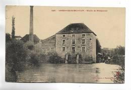 71 - VARENNES-St-SAUVEUR - Moulin De Montjouvent. Cachet Le L' Hôpital Militaire De Varennes-St- Sauveur - France