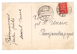 PC Petseri To Pankjavitsa AG 1928 ,Estland - Estonie